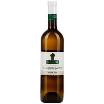 Вино Marani Алазанська долина біле напівсолодке 0,75л