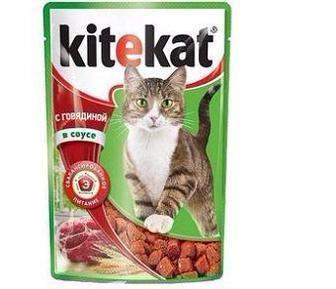 Корм для котів KiteKAt 100
