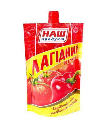 Кетчуп Шашличний гострий, Лагідний Наш Продукт 250г