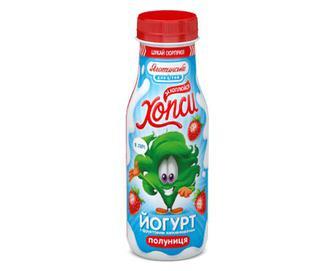 Йогурт «Хопси» полуниця 1,5% жиру, 200г