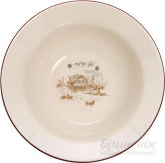Тарілка супова Enjoy Life LY802-3 650 мл 17,5 см Bella Vita