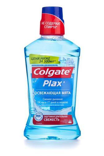 Ополаскиватель для полости рта Colgate Plax Освежающая Мята 500 мл