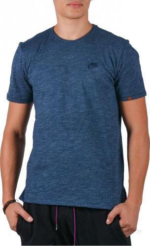 Футболка Nike NSW LEGACY TOP SS KNT 872392-454 L синій