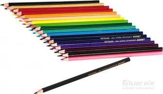 Олівці кольорові Пегашка 1010-36CB 36 шт. Marco