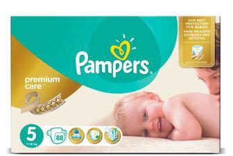 Дитячі підгузки Pampers Premium Care Mega Pack Junior (11–18 кг) 88 шт./уп
