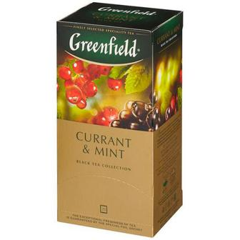Чай Greenfield Currant & Mint чорний 25