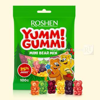 Цукерки YummiGummi Roshen 100 г