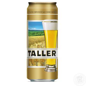 Пиво Светлое Талер 0,5 л