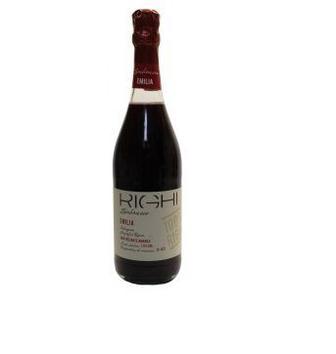 Вино игристое красное полусладкое Righi Lambrusco Rosso Emilia IGT