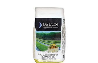 Крупа рис шлифованный  Камолино De Luxe Foods & Goods Selected 1 кг