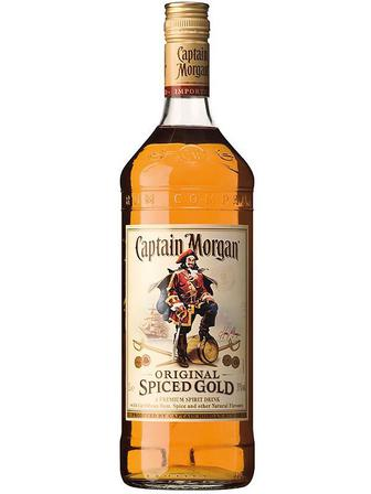 Ром Captain Morgan Spiced Gold 1 л
