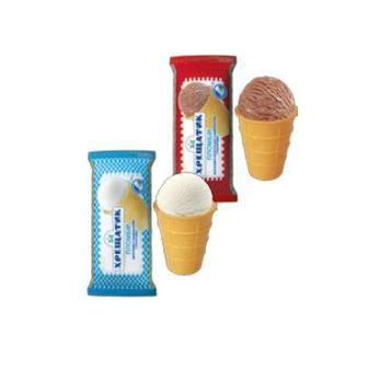 Морозиво пломбір у вафельному стаканчику Хрещатик, 70 г
