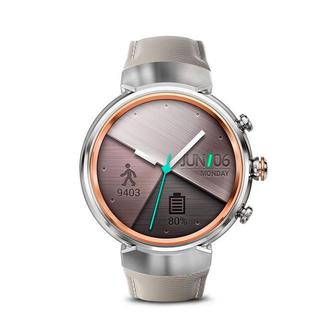 ASUS ZenWatch 3WI503Q 1.39 Silver/Beige (Refurbished by ASUS) OEM