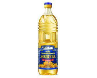 Олія соняшникова, Чумак, рафінована, 1 л