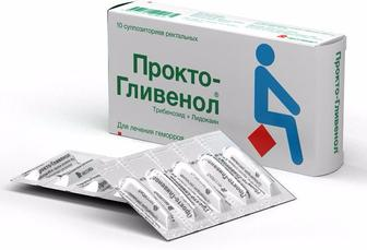 Крем ректальний по 30 г у тубі/Супозиторії ректальні по 10 супозиторіїв ПРОКТО-ГЛІВЕНОЛ