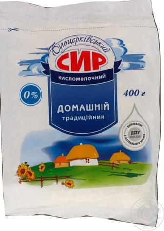 Творог 5% Белоцерковский ст/пак, 400 г