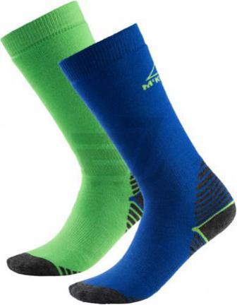 Шкарпетки McKinley Rob jrs 2-pack McK р. 35-38 синьо-зелений