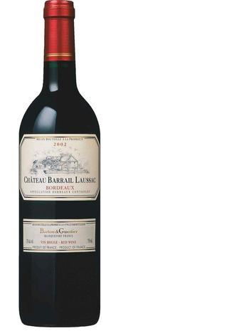 Вино Barton&Guestier Шато Барай Лоссак, червон сухе, 0,75 л