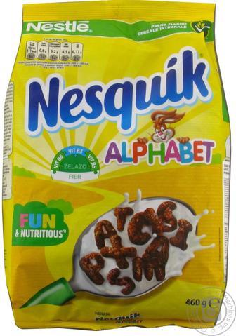 Готовий сніданок Nestle, Nesquik, 400г