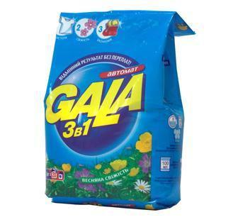 Скидка 22% ▷ Gala стиральный порошок-автомат, 8 кг