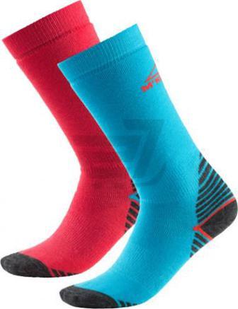Шкарпетки McKinley Rob jrs 2-pack McK р. 31-34 блакитно-рожевий