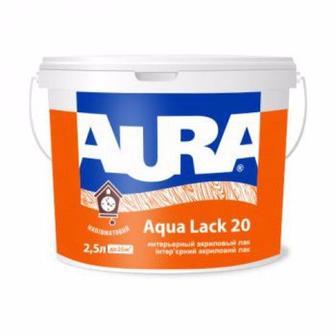Лак акриловий Agva Lack 20 інтер'єрний AURA 2.5 л