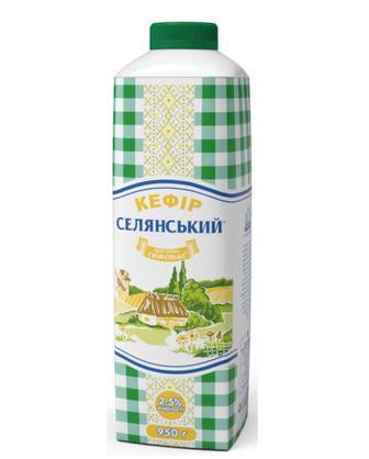 Кефір 2,5% Селянський 950г