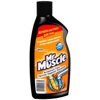 Засіб Johnson Mr.Muscle для труб гель 500мл