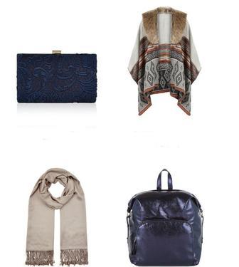 Знижки до -70% на сумки, сережки, браслети, головні убори з колекції Осінь-Зима Accessorize