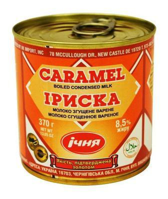 Молоко сгущенное Ириска ИЧНЯ вар., 8,5%, 370 г