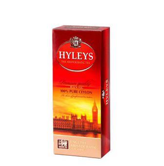 Чай чорний Англійський аристократичний Хейліс 25 пак
