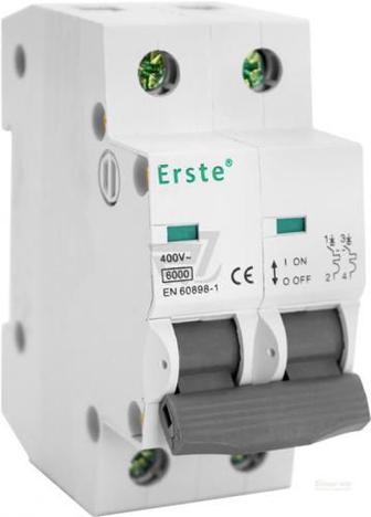 Автоматичний вимикач Erste EB5-63 2P 40A тип С 6кА