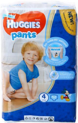 Підгузки-трусики Huggies Boy 9-14 кг 52 шт.
