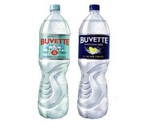 Вода минеральная Бювет № 5 лимон сл/газ, газ, 1,5 л