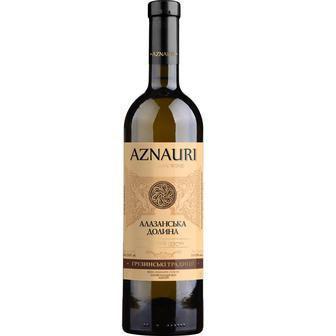 Вино біле напівсолодке Азнаурі Алазанська Долина 0,75л