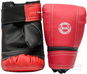 Рукавички снарядні Boxing RBZ-43201 червоний
