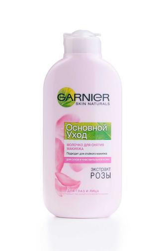 Молочко для лица Garnier Основной уход для сухой и чувствительной кожи, 200мл