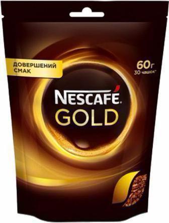 Кава Нескафе Голд 60г