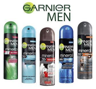 Мужской дезодорант - спрей для тела Гарниер Garnier 150мл