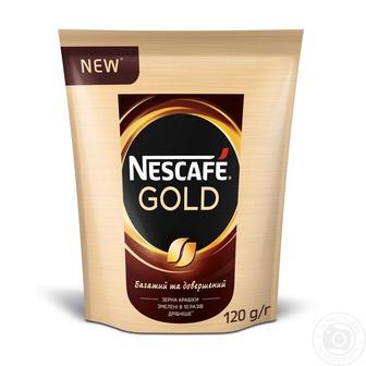 Кава розчинна Gold Nescafe 120г