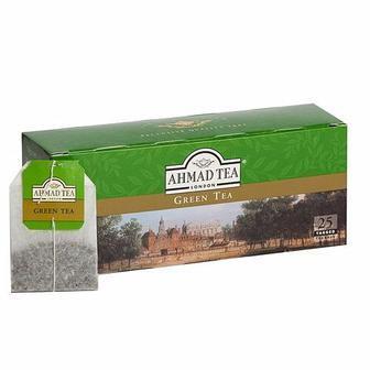 Чай класичний чорний або зелений Ahmad 25п