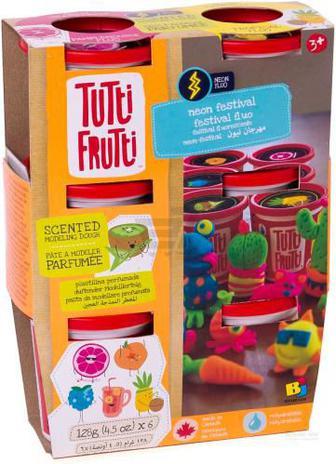 Пластилін Tutti-Frutti Фруктові аромати неон BJTT15052