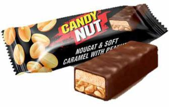 Скидка 18% ▷ Цукерки Candy Nut нуга,карамель арахіс, Рошен, кг
