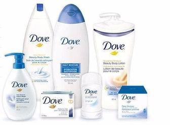 Засоби по догляду за лицем, волоссям та тілом Dove