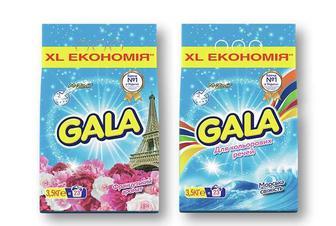 Засіб миючий синтетичний «Французький аромат»/ «Морська свіжість» для кольорових речей, порошок автомат Gala - 3,5 кг