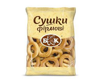 Сушки БКК «Фірмові», 300 г