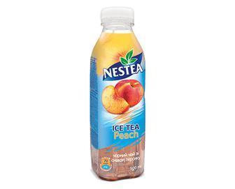Чай холодний Nestea чорний зі смаком персика, 0,5л