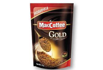 Кава Gold розчинна, сублімована МасCoffee 75 г