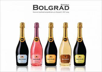 Игристое вино Bolgrad, Болград шампанское полусладкое Classic 0.75л