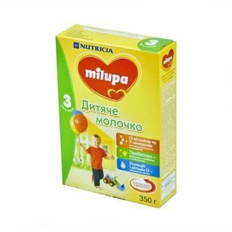 Смесь Milupa Замінник грудного молока Milupa-3 350/600 г